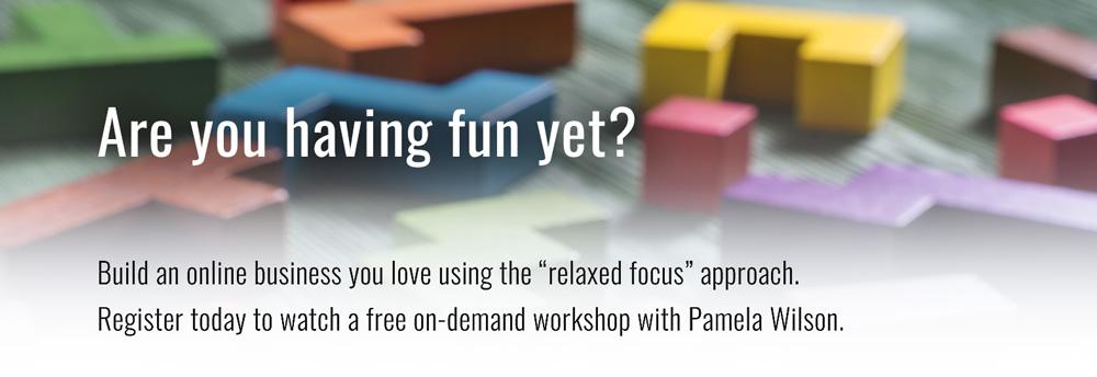 Free online business workshop