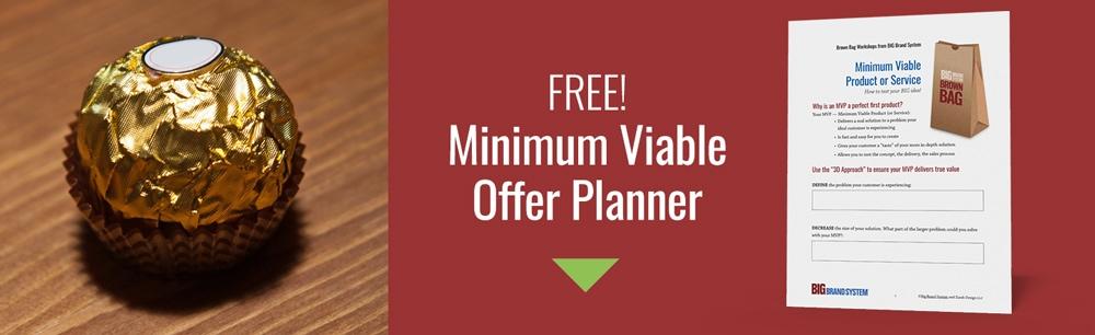 Minimum viable product examples: free worksheet