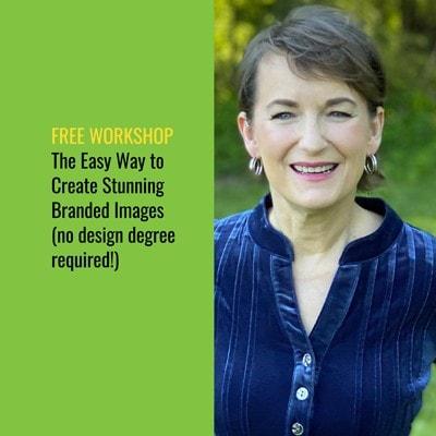 Free visual marketing worksop with Pamela Wilson of BIG Brand System