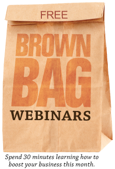 Brown Bag Webinar