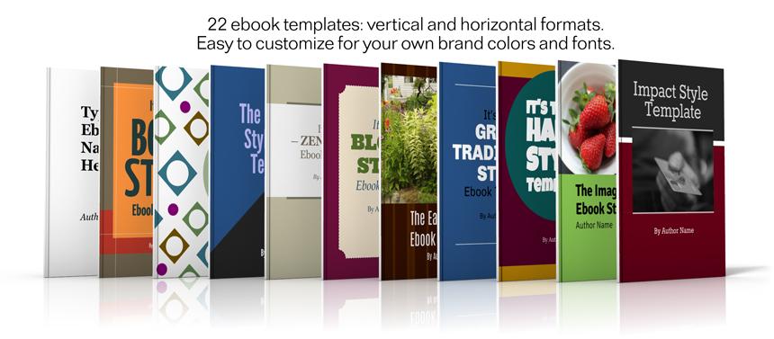 eBook Evolution templates