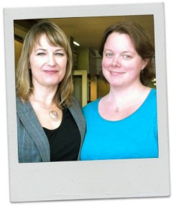Pamela Wilson and Kelly Kingman