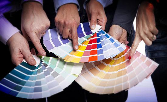 Choose brand colors